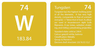 Tungsten Periodic Table Periodic Table U2013 Page 7 U2013 Joe U0027s Classes