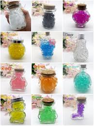 Wedding Home Decor 1200bags Spherical 2 5 3mm Dry Hydrogel Beads Grow Ball Plant