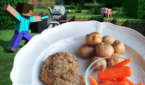 minecraft cuisine minecraft pork chop dinner yummymummyclub ca