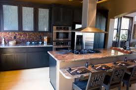remodeled kitchens with islands 52 kitchens with wood and black kitchen cabinets