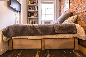 Home Design 50 Sq Ft by How One New Yorker Lives Comfortably In 90 Square Feet Curbed Ny