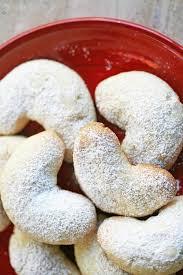 almond crescent cookies recipe simplyrecipes com