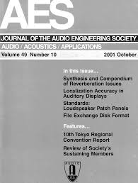 aes e library complete journal volume 49 issue 10