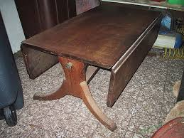 Drop Leaf Coffee Table Suggestions On How To Refinish A Damaged Drop Leaf Coffee Table