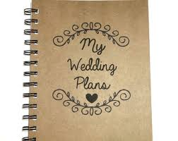 plan my wedding party planning book etsy