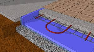 hydronic retrofit in a basement slab insulate youtube