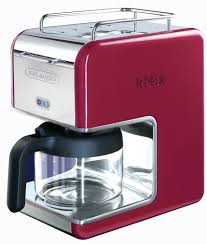 delonghi magnifica red light delonghi kmix 5 cup drip coffee maker red the kitchen china