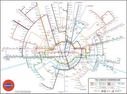 underground map new version of underground map shows circles are the way