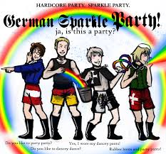 Pants Party Meme - german sparkle party by cathyomg on deviantart
