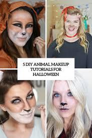 Bambi Halloween Makeup by Animal Halloween Makeup