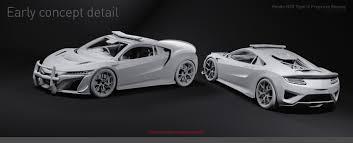 honda supercar concept artstation honda nsx type x police vehicle concept marco cheng