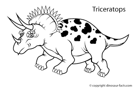 dinosaurs for kids coloring pages funycoloring