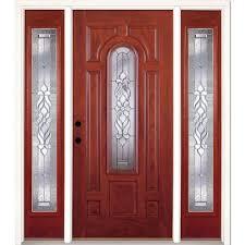 feather river doors 67 5 in x81 625in silverdale brass 3 4 oval lt