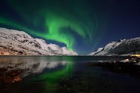 sky outdoors landscape artic boreale lights aurora northern