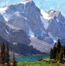 Mountain Landscape Paintings by 89 Best Landscapes And More Images On Pinterest Landscape