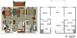 800 Sq Ft House Plans 3 Bedroom 9 Impressive Square Foot Condo 1 800 Sf Home Plans