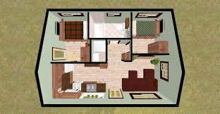 plans for small cabin small homes floor plans free