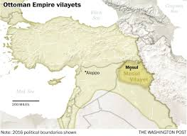 Provinces Of The Ottoman Empire The History Of Mosul In Five Maps The Washington Post