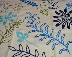 embroidered home decor fabric westgate embroidered leaves fabric sle wall hanging home decor