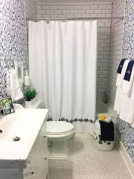 and white bathroom ideas blue white bathroom makeover hometalk