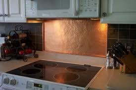 copper backsplash for kitchen awesome copper backsplash kitchen of contemporary kitchen design
