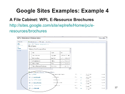 Google Sites File Cabinet Practical Examples How Blogger Del Icio Us And Other Web 2 0 Tools U2026