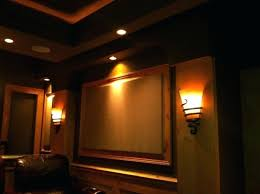 media room lighting ideas media room wall sconces home theater columns sconce height bedroom