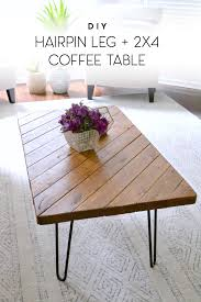 Diy Coffee Tables by My 15 Minute Diy Coffee Table U2013 The Ugly Duckling House