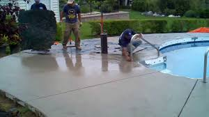cantilever pool coping forms glamorous painting pool deck concrete