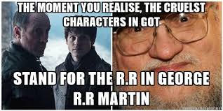 George Rr Martin Meme - game of thrones george r r martin meme by nightmareangeldeath on