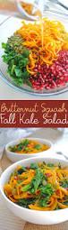 butternut squash for thanksgiving roasted butternut squash fall kale salad emilie eats