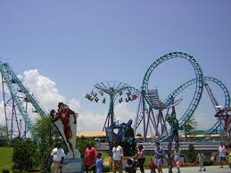 Six Flags Rollercoaster File Six Flags Nola Atmosphere Jpg Roller Coaster Wiki