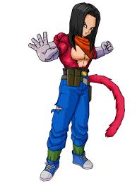 android 17 and 18 image result for android 17 saiyan 4 fanart