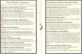 hindu wedding program a scrappy cpa june 2010