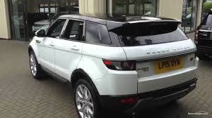 range rover white 2016 land rover range rover evoque ed4 pure tech white 2015 youtube