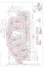 Plot Map Plot Map U2013 Laurel Ridge Homeowners Association