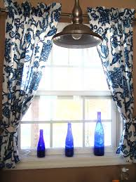 kitchen curtains design blue and white kitchen curtains kitchen design