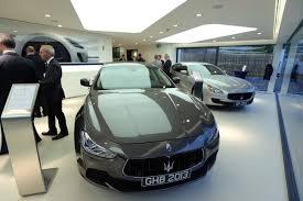 maserati dealership the motoring world charles hurst announces new improved showroom