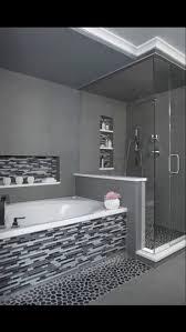 Diy Bathroom Shower Ideas Colors Best 25 River Rock Bathroom Ideas On Pinterest River Rock