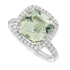 green wedding rings green engagement rings get the look green engagement rings