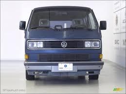 volkswagen vanagon blue 1991 orly blue metallic volkswagen vanagon gl w wheelchair access