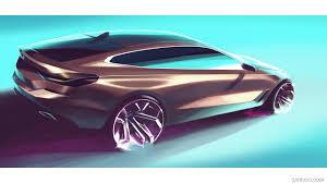 2018 bmw 6 series 640i xdrive gran turismo design sketch hd
