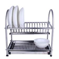 furniture home stainless steel dish drainer kitchen rack dish