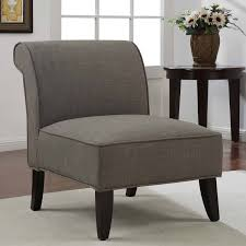 simple gray sadie slipper armless design for living room accent