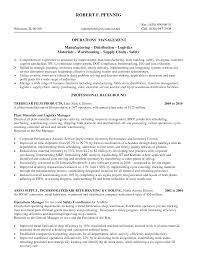 Logistics Manager Resume Sample by Material Management Resume Sample Free Resume Example And