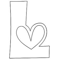 10 free printable letter coloring pages