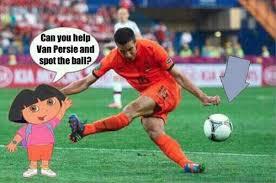 Van Persie Meme - can you help van persie and spot the ball memes pinterest van