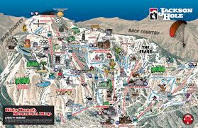 New Mexico Ski Resorts Map by Trail Map Jackson Hole