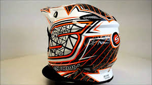 suomy helmets motocross suomy mr jump s line orange 360 video youtube