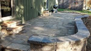 stone patio using a plate compactor for stone patio concrete stone